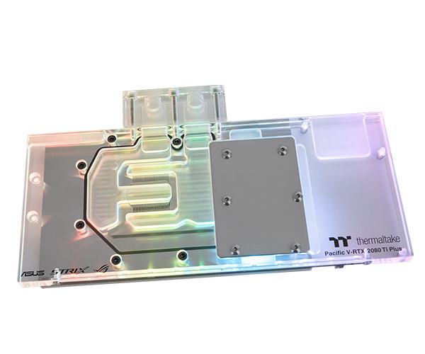 Thermaltake Pacific V-GTX 980 V2 VGA Water Block compatible with ASUS STRIX-GTX980 CL-W058-CU00WT-A